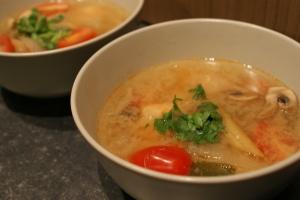 Foto van Thaise pikante garnalensoep