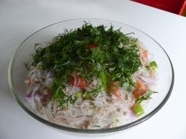 Foto van Thaise glasmie salade