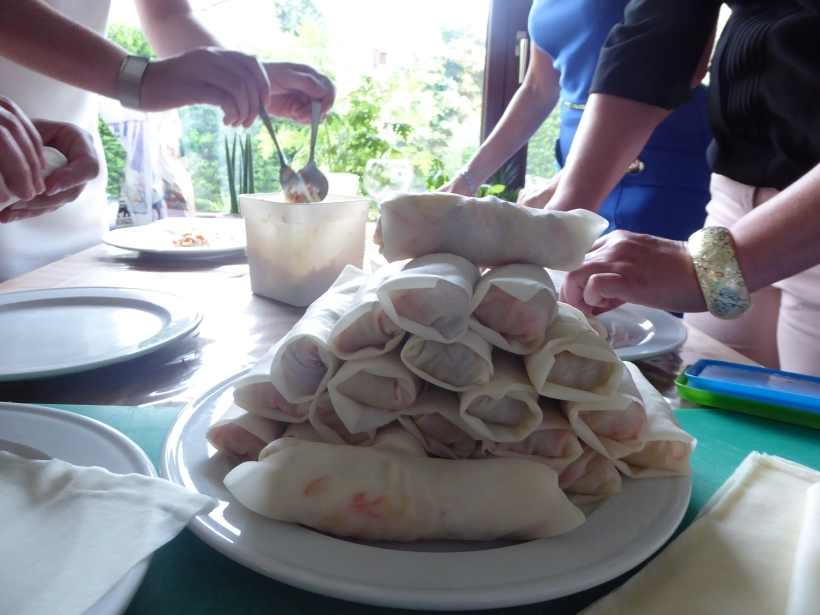 Workshop Thais eten loempia's maken Thai@Home