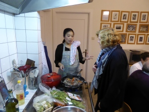 Foto van Thaise kookles thuis