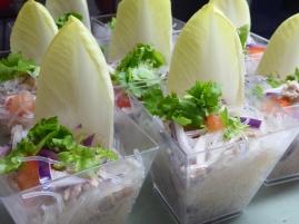 Foto van Thaise glasmie salade met witloof