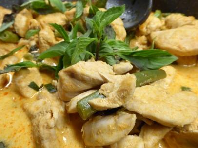 Foto van Thaise panang curry
