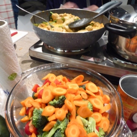 Foto van ingrediënten voor Thaise wok