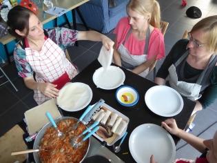 Foto van Thaise kookworkshop om loempia's te maken