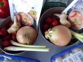 Foto van ingrediënten voor het Thais koken