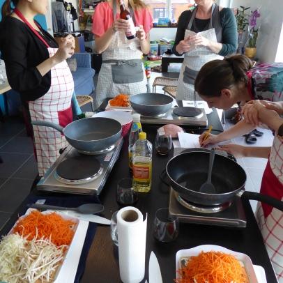 Foto van Thaise kookles met Thaise oestersaus