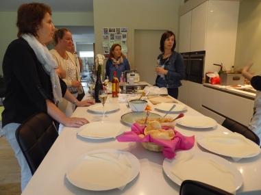 Foto van uitleg Thaise kookworkshop