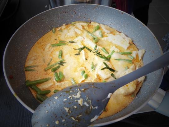 Foto van een Thaise curry
