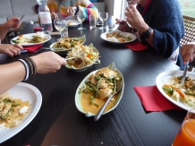 Foto van Thais eten op tafel