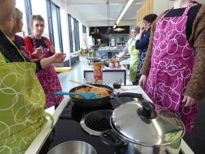 Loempiavulling in wok