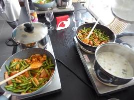 Foto van Thaise soep en curry