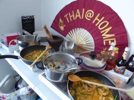 Foto van Thais eten in buffet
