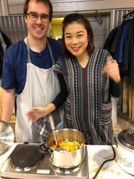 Koppel kookt Thais