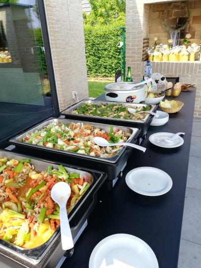 Thais buffet aan huis