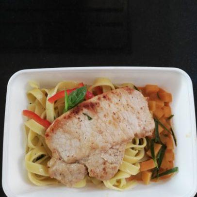 Thai fusion food gerecht