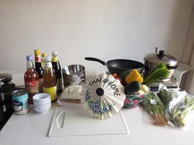 Mis-en-place voor de Thaise kookworkshop